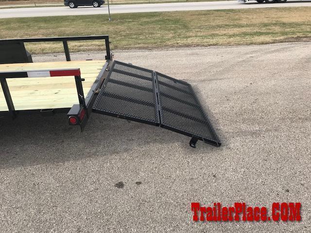 "2019 Ranch King 6'10"" x 14 Utility Trailer"
