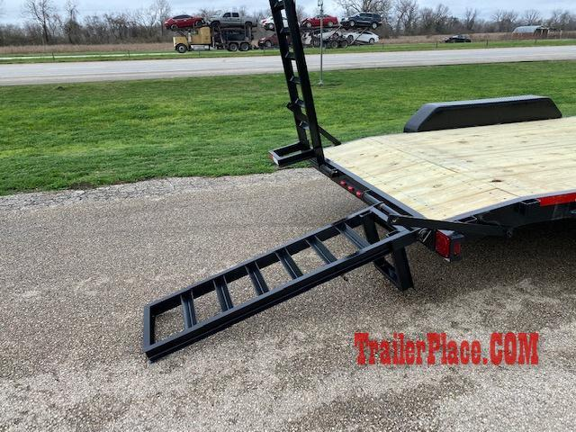 2020 Texas Pride 7x20 LowBoy Equipment/Car Hauler