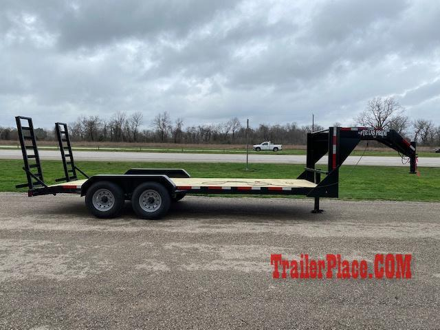 2020 Texas Pride 7x20 LowBoy Equipment/Car Hauler