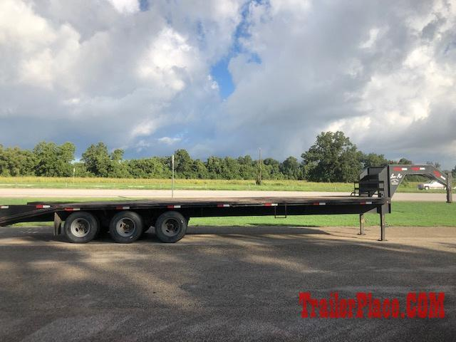 2013 Sure Pull 102x32 Triple Axle Flatbed