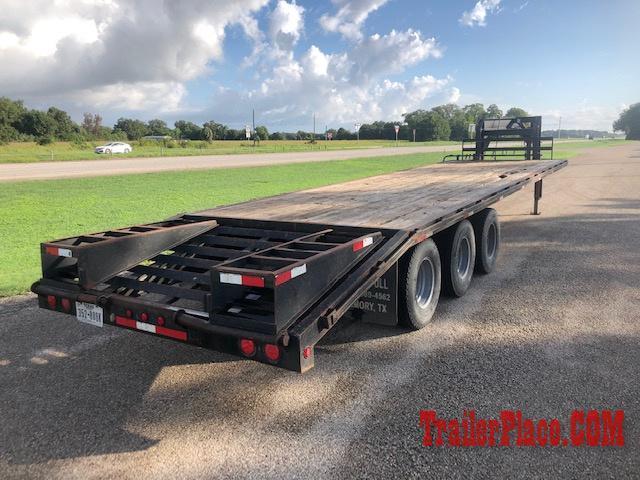 2013 Sure Pull 102x32 Triple Axle Flatbed