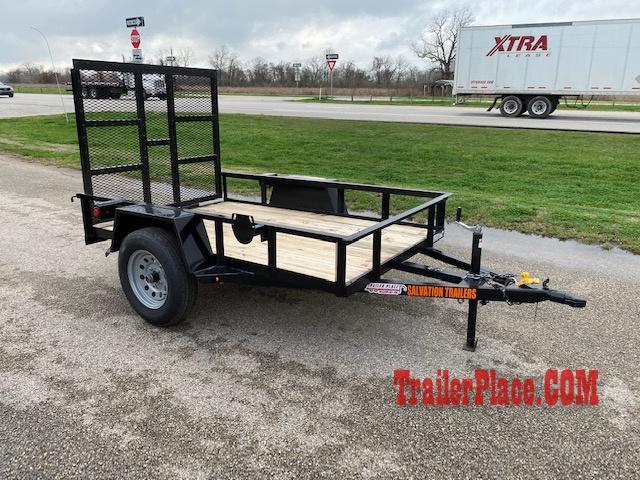 2020 Salvation 5 X 8 Utility Trailer