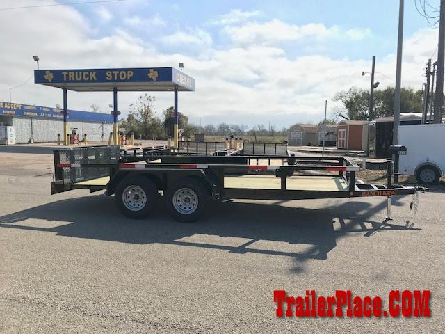 "2019 Ranch King 6'10"" x 16 Utility Trailer"