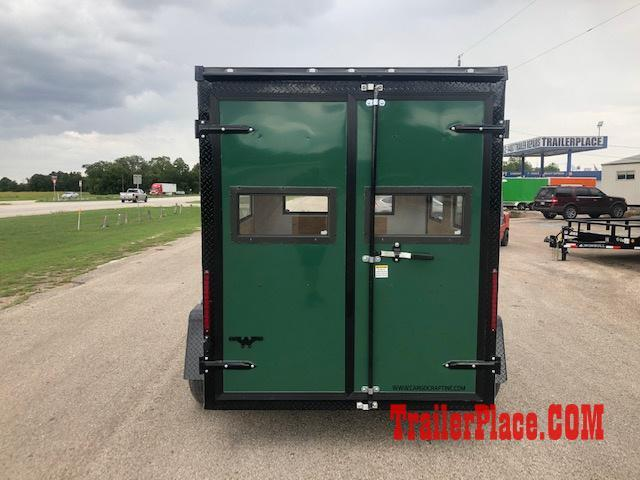 2020 Cargo Craft 6x8 Hunting Blind Trailer