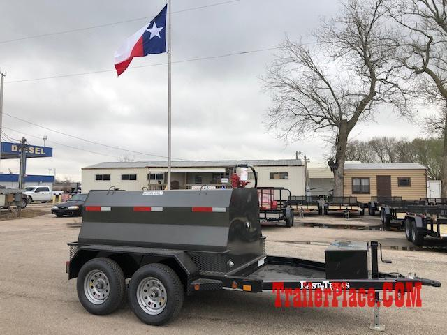 2020 East Texas 600 Gal Diesel Tank Trailer