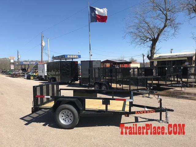 2019 Ranch King 5 X 9 Utility Trailer