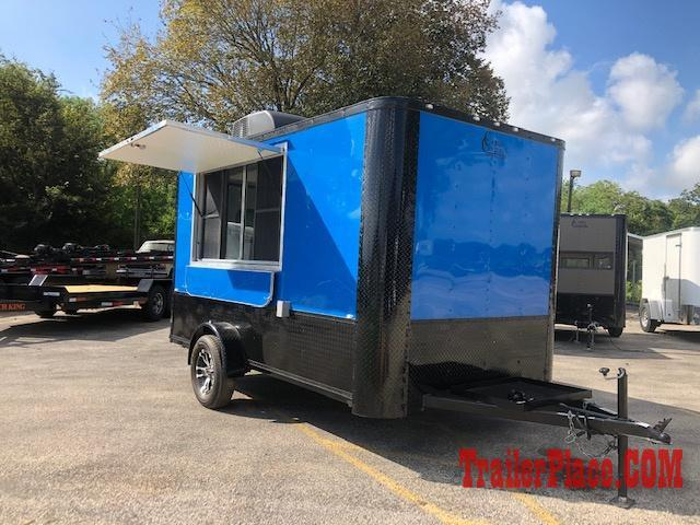 2020 Cargo Craft 7X12  Concession Trailer