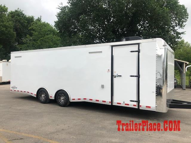 2019 Cargo Craft 8.5x28 Car Racing/ Enclosed Cargo Trailer