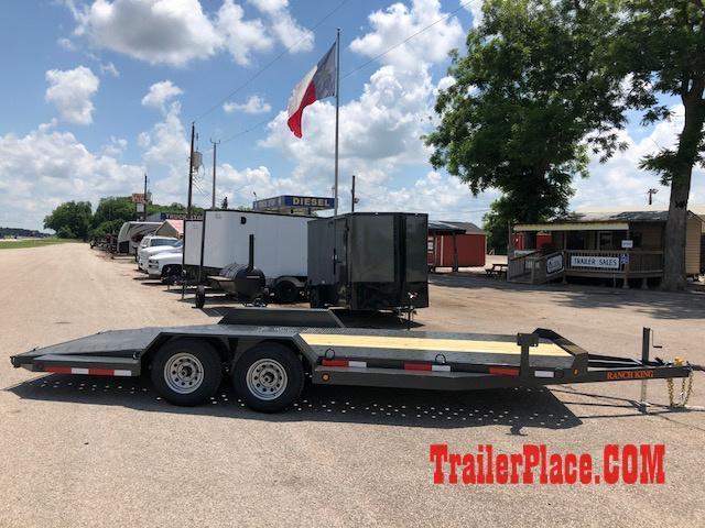 """2020 Ranch King 6'10"""" x 20 Car Hauler Trailer"""