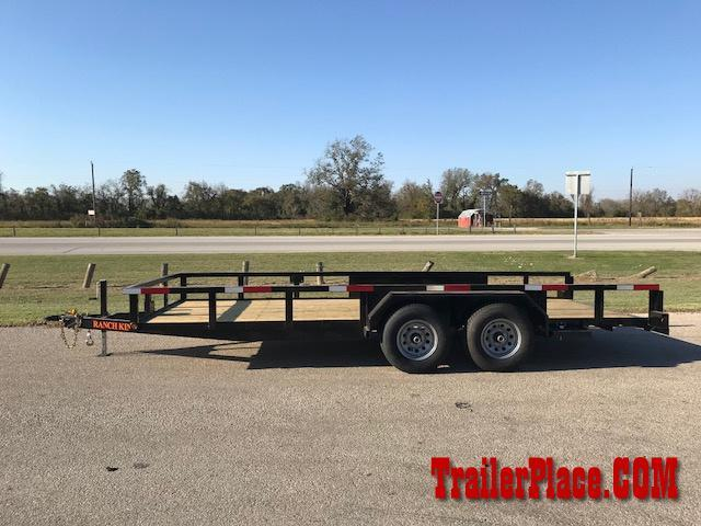 "2019 Ranch King 6'10"" x 20' Utility Trailer"