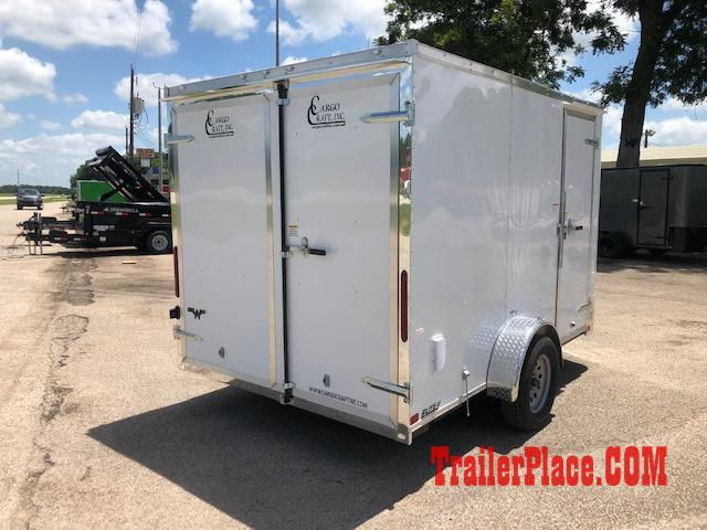 2019 Cargo Craft 6 x 12  Enclosed Cargo Trailer