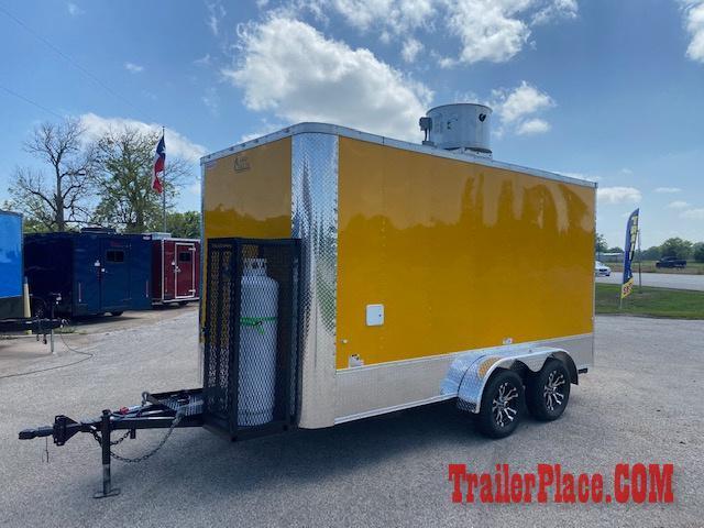 2020 Cargo Craft 7X14  Food/Concession Trailer
