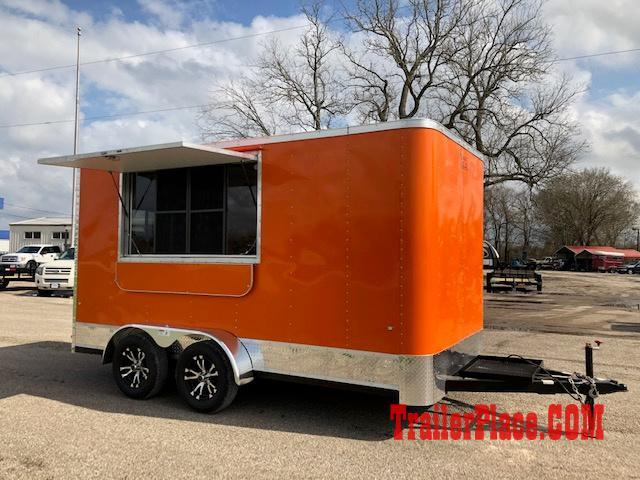 Cargo Craft 7 x 14 CONCESSION / FOOD TRAILER