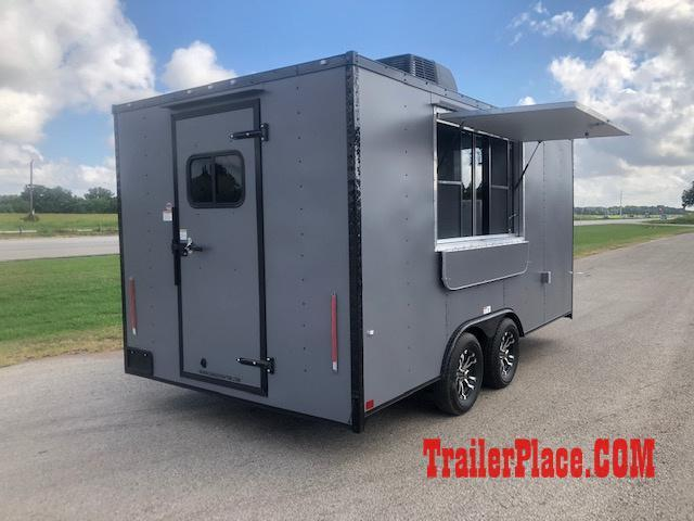 2019 Cargo Craft 8.5X16  Concession Trailer
