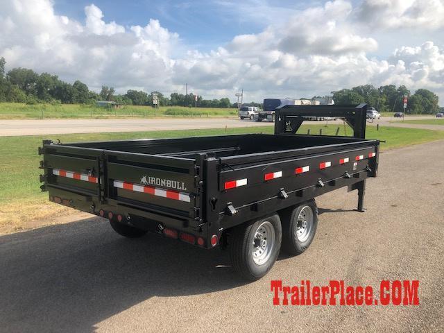 2019 Iron Bull 96 x 16 Gooseneck Dump Trailer
