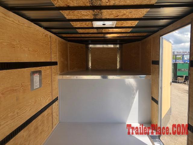 2020 Cargo Craft 8.5x32  Gooseneck Enclosed Cargo Trailer