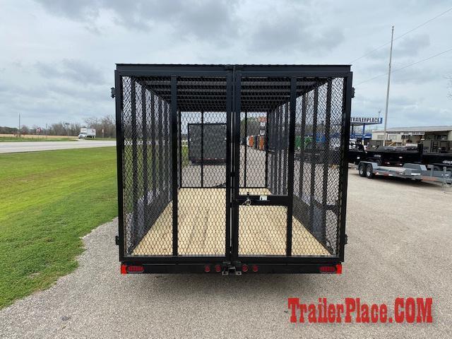2020 East Texas  83 x 16 Trash Trailer