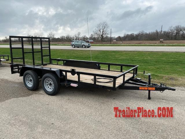 "2020 Salvation 77"" X 16' Utility Trailer"
