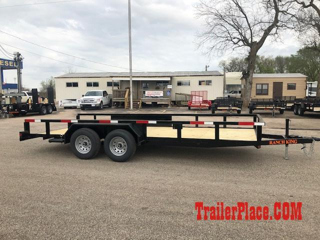 "2019 Ranch King 6'10"" x 18 Utility Trailer"