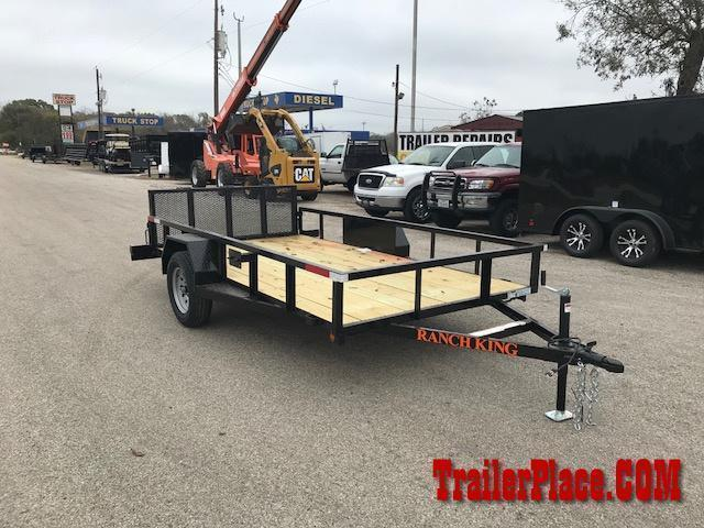 2019 Ranch King 6 x 10 Utility Trailer