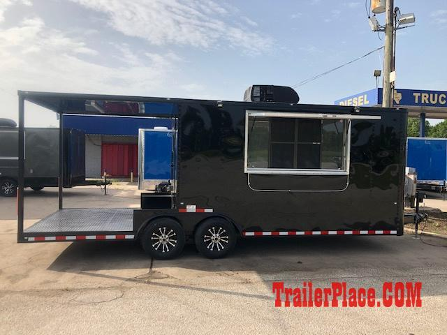 BRAND NEW & IN STOCK 8.5x22 BBQ / COOK OFF / PORCH / CONCESSION / VENDING / FOOD TRAILER