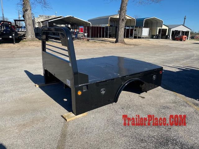"2020 Norstar 8'6"" x 84"" CTA 58"" ST Skirted Truck Bed"