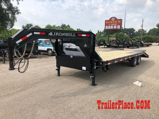 2019 Iron Bull 102x25 Flatbed Trailer