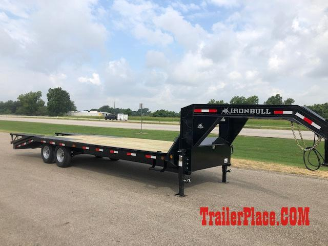2019 Iron Bull 102x25 Flatbed Trailer