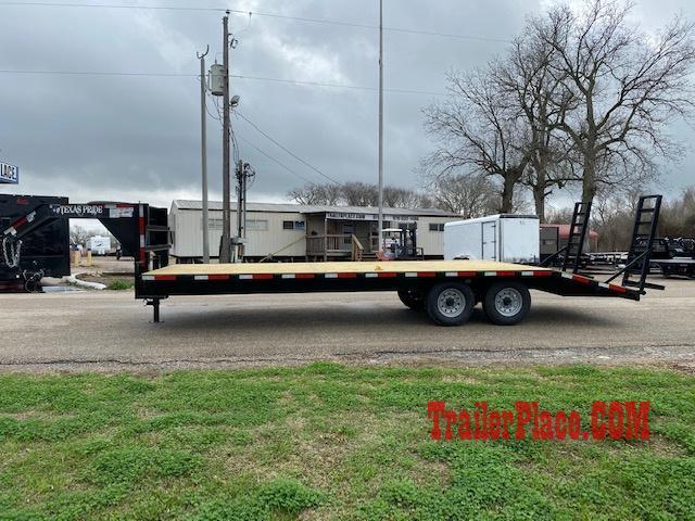 """2020 Texas Pride 102"""" x 20'+5' 14k Deckover Trailer"""