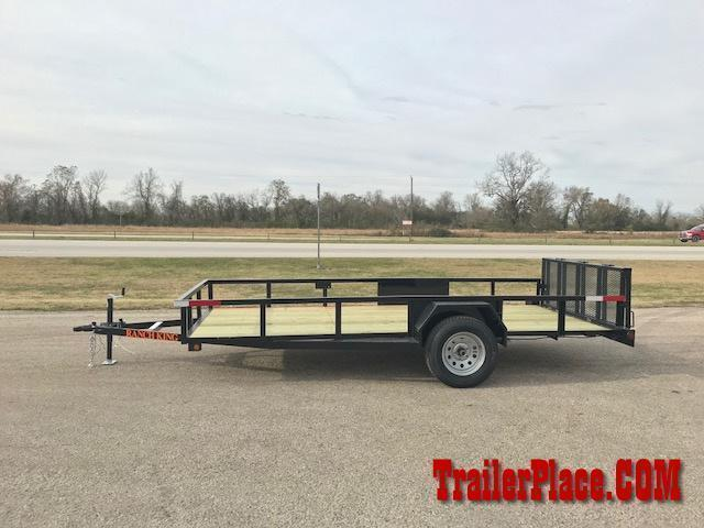 2019 Ranch King 6 x 14 Utility Trailer