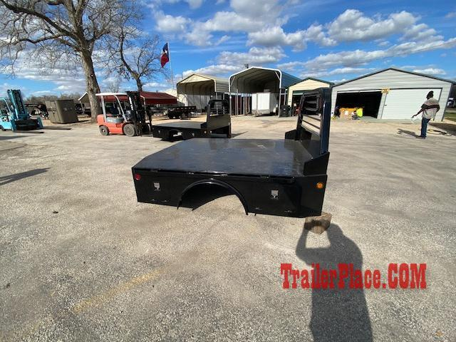 "2020 Norstar 8'6"" x 97"" CTA 58"" ST Skirted Truck Bed"