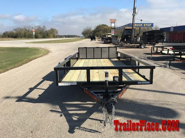 "2019 Ranch King 6'10"" x 16' Utility Trailer"