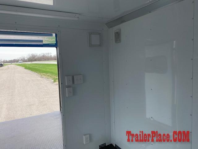 BRAND NEW IN STOCK 8.5x20 BBQ / COOK OFF / PORCH / CONCESSION / VENDING / FOOD TRAILER
