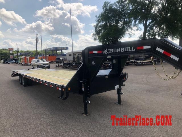 2019 Iron Bull 102x28 Lo Pro Flatbed