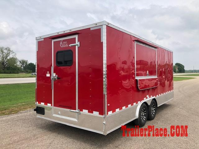 2019 Cargo Craft 8.5X20  Concession Trailer