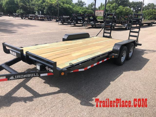 2020 Iron Bull 83x20 Car Hauler Trailer