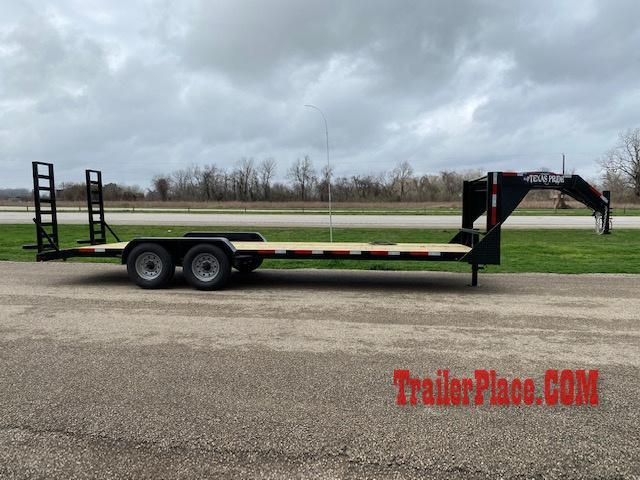 2020 Texas Pride 7x24 LowBoy Equipment/Car Hauler