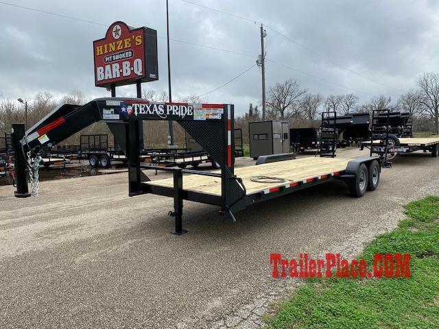 2020 Texas Pride 7x24 LowBoy Equipment/Car Hauler