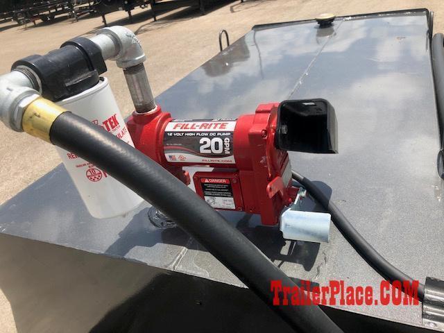 2020 East Texas 300 Gal Diesel Tank Trailer