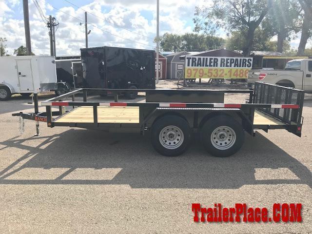 "2020 Ranch King 6'10"" x 14 Utility Trailer"