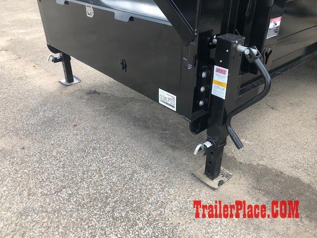 2020 Iron Bull 83 x 14 Gooseneck Dump Trailer