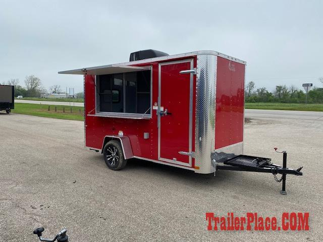 2020 Cargo Craft 6X12  Concession Trailer