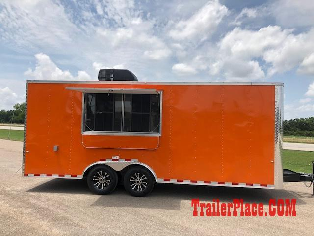 2020 Cargo Craft 8.5X20  Concession Trailer