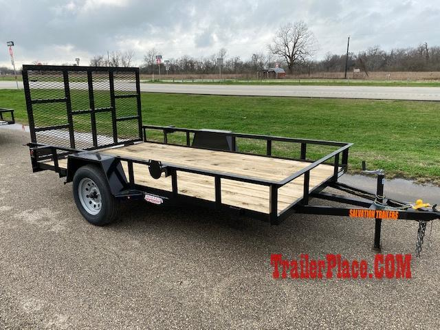 2020 Salvation 6.5 X 12 Utility Trailer
