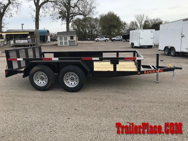 2019 Ranch King 6 x 12 Utility Trailer