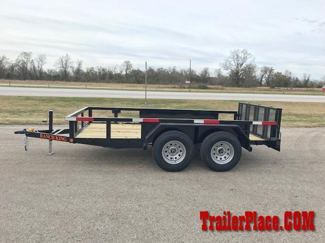 2019 Ranch King 6 x 12 Utility Trailer