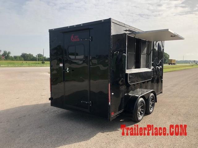 BRAND NEW 7 x 14 CONCESSION / FOOD TRAILER
