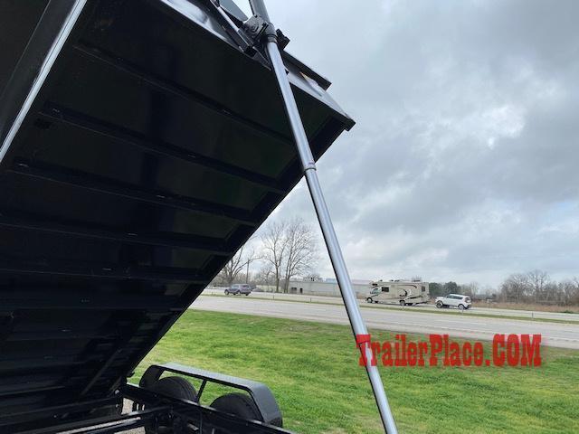 2020 Texas Pride 7 x 16 Bumper Pull Dump Trailer