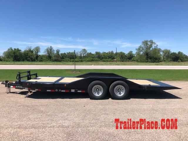 2019 Iron Bull 102x20 Tilt Lo Pro Car Hauler Trailer