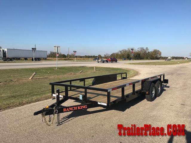 "2020 Ranch King 6'10"" x 18' Utility Trailer"